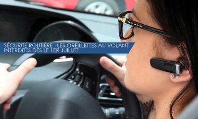 Sécurité routière : les oreillettes au volant interdites dès le 1er juillet