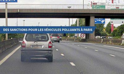 Des sanctions pour les véhicules polluants à Paris
