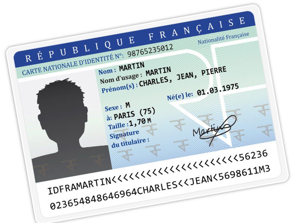 COPIE DE LA PIECE Didentite CARTE SEJOUR OU PASSEPORT