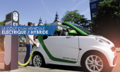 le coût de véhicule électrique ou hybride