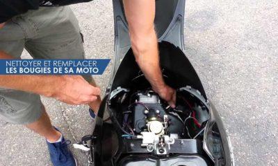 Nettoyer et remplacer les bougies de sa moto