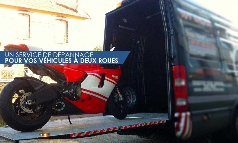 service de dépannage pour vos véhicules à deux roues