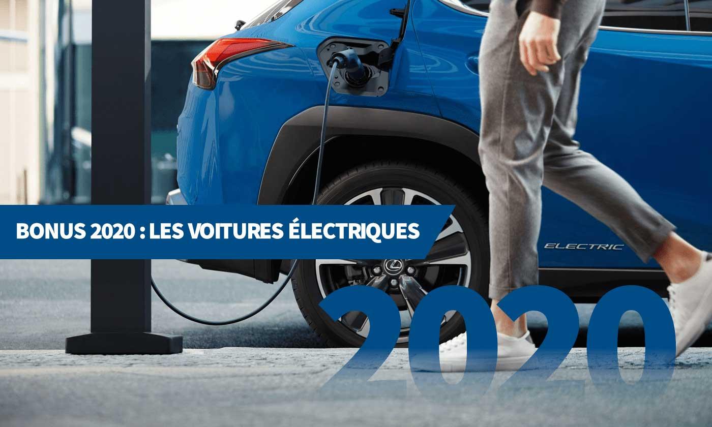 Bonus 2020 : les voitures électriques