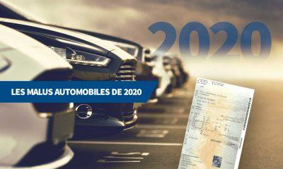 Les malus automobiles de 2020
