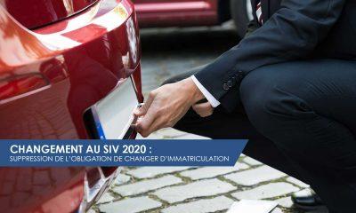 Changement au SIV 2020